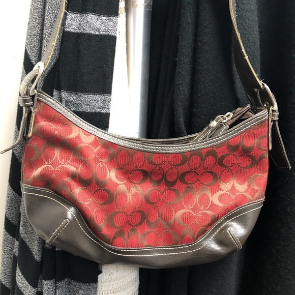 Handbags - Red and brown purse